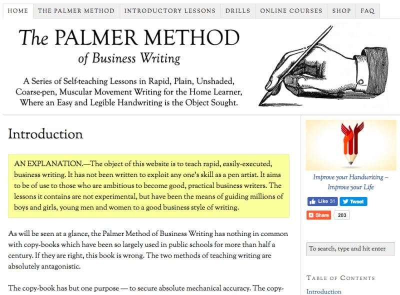 14 Simple Ways To Improve Your Handwriting Palmer method