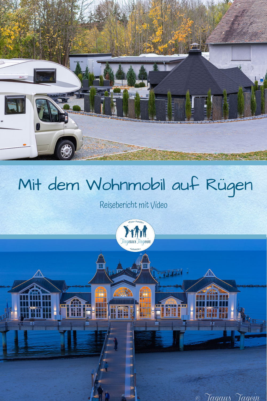 Reisebericht mit Video  Mit dem Wohnmobil auf Rügen