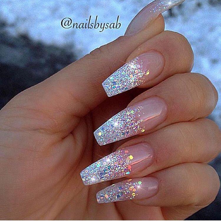 Soooo cute   Cute acrylic nails, Coffin nails long, Prom nails