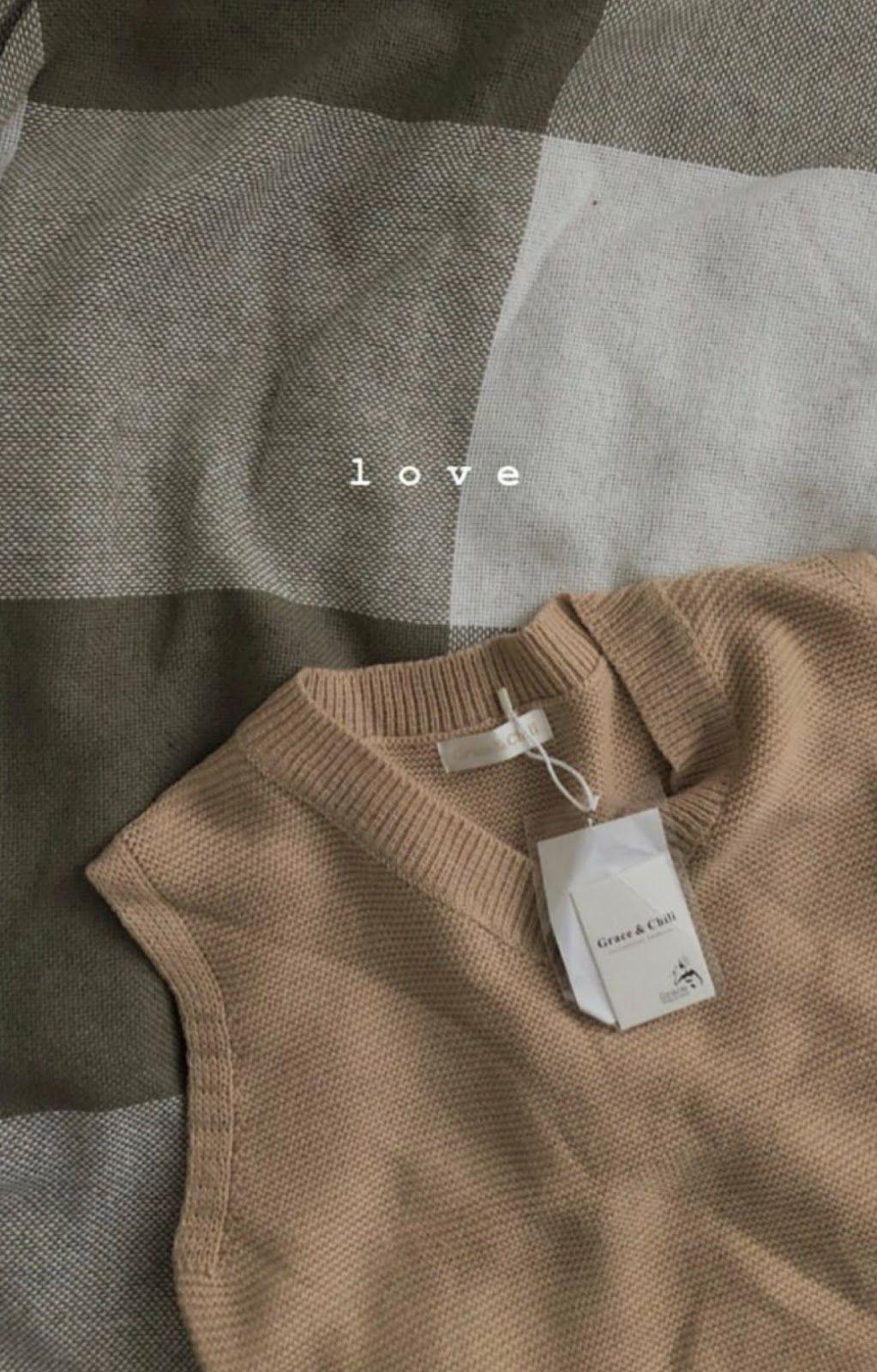 Brown Cozy Sweater Vest