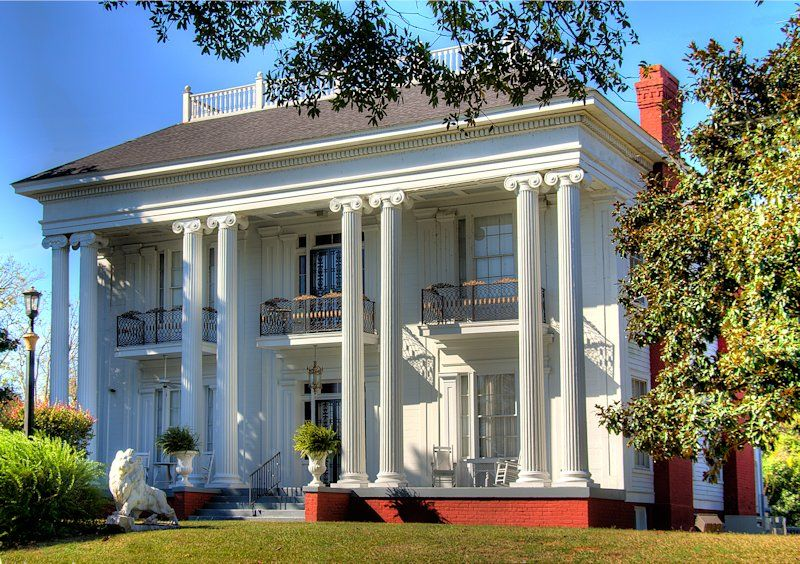 Pin On Antebellum Homes Churches Plantations Of The Old South