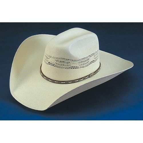 Atwood Hat Company  Stephenville Bangora 4.5 Brim Straw Cowboy Hat 7 8 9de72f1eacce