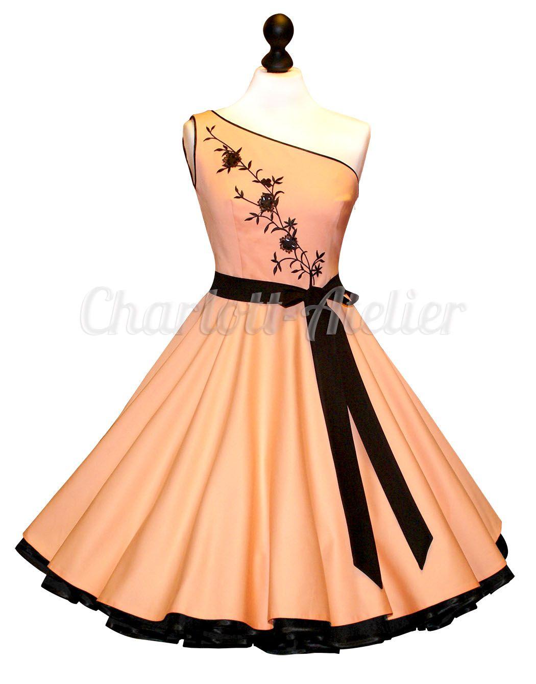 PETTICOATKLEID // APRICOT // ABENDKLEID | Dresses | Pinterest ...