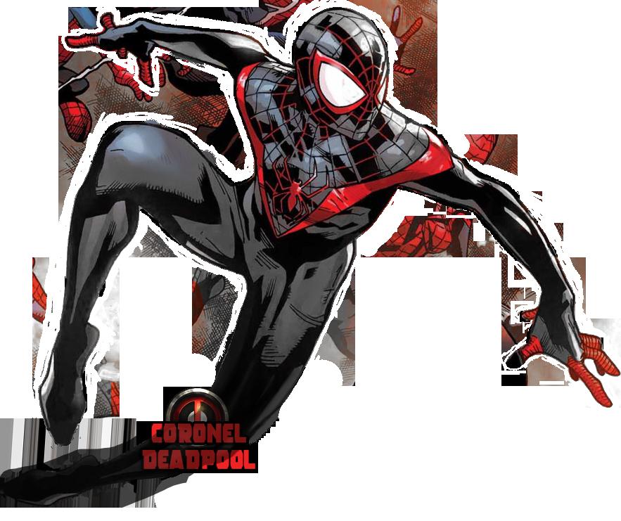 Miles Morales Spiderman Drawing