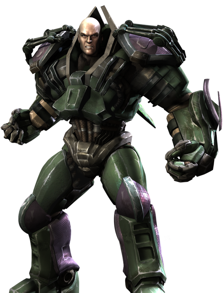 Lex Luthor Is One Of The Most Dangerously Intelligent Men On The Planet A Super Villain A Brilliant Scientist A Billionai Injustice Lex Luthor Character Art
