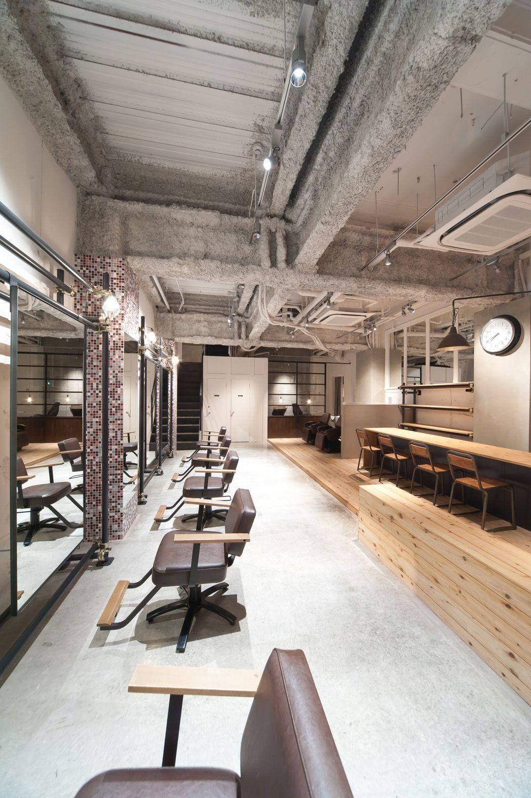 Idea Appeal 大阪府大阪市の美容室 Fier の店舗デザイン 2020