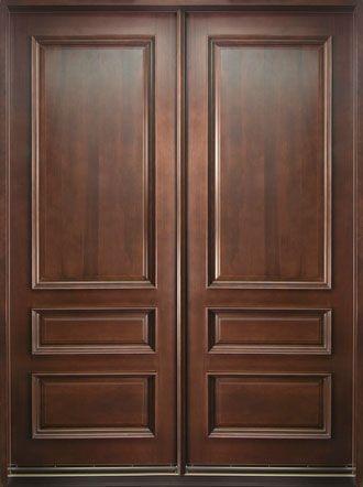 Ordinaire Mahogany Solid Wood Front Entry Door   Double Exterior Doors, Interior Barn  Doors, Interior