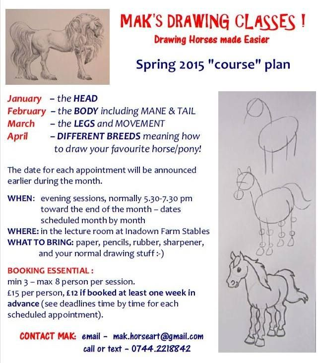 Hello All :) A very good friend of mine has been pursuing the love of equestrian art for many years among her rather exciting round-the-world horse jobs. She is now organising a series of drawing w...