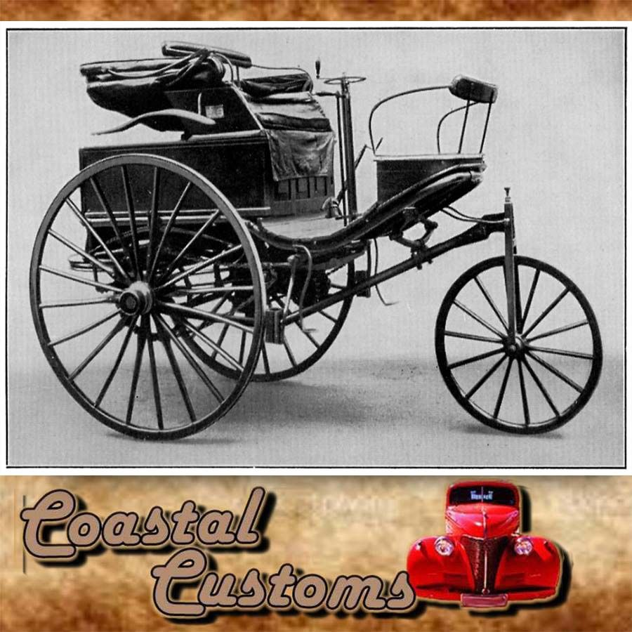 The Benz Patent-Motorwagen is believed to be the first modern ...