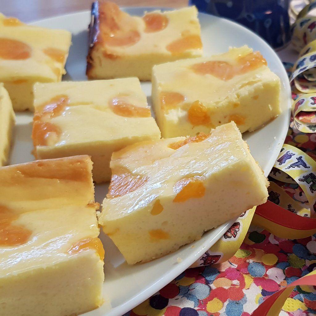 Schneller Käsekuchen mit Mandarinen vom Blech (und noch mehr Kuchen) | Kerstin und das Chaos