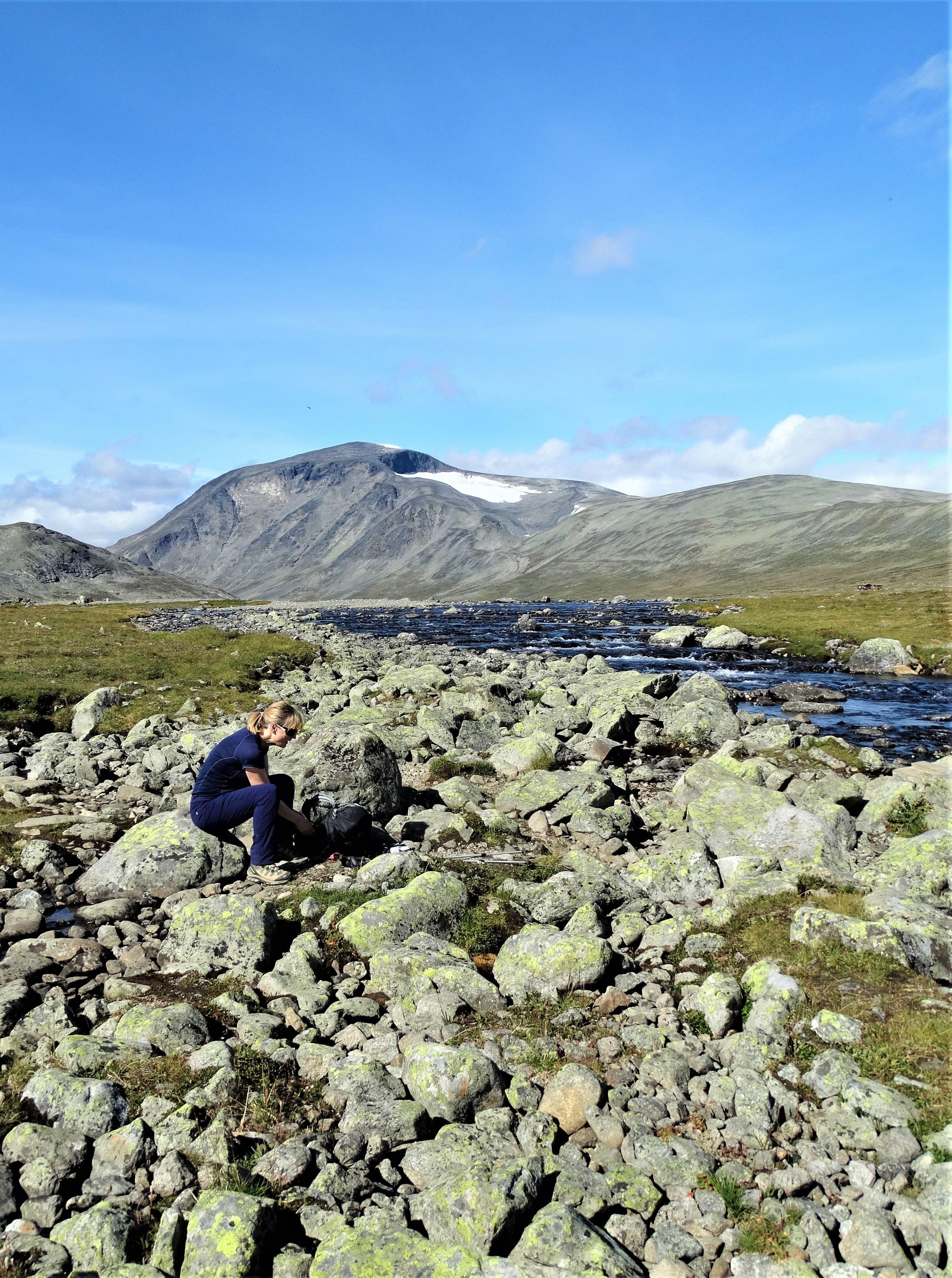Mountain Veiws In The Jotunheimen National Park