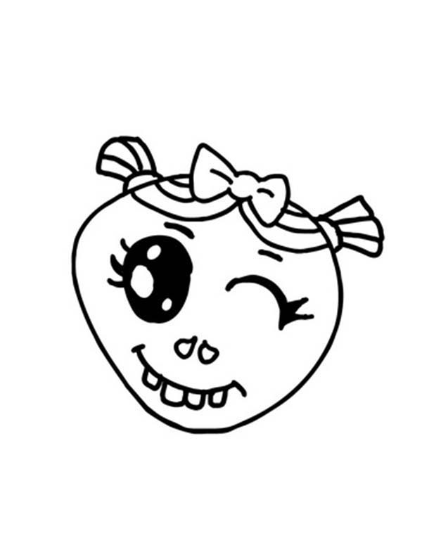 Winking Silly Face Coloring Page Coloring Sky Silly Faces Coloring Pages Silly