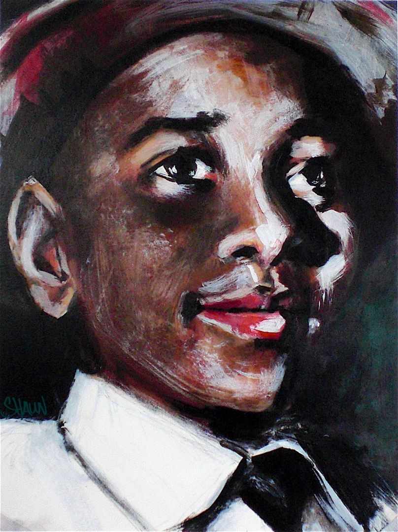 painting of emmett till emmett till  painting of emmett till