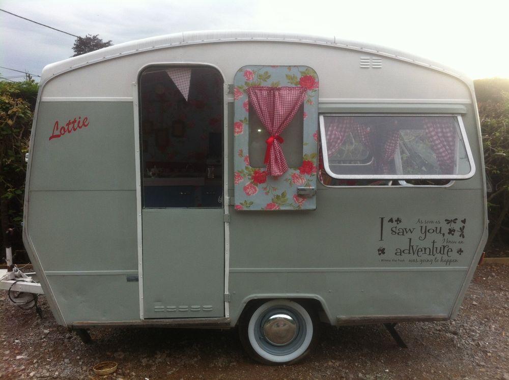 Beautiful Vintage Retro Classic Sprite 400 Caravan My Friends