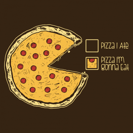 Tattoo Designs Vignesh: Pizza Pie Chart T-Shirt In 2019