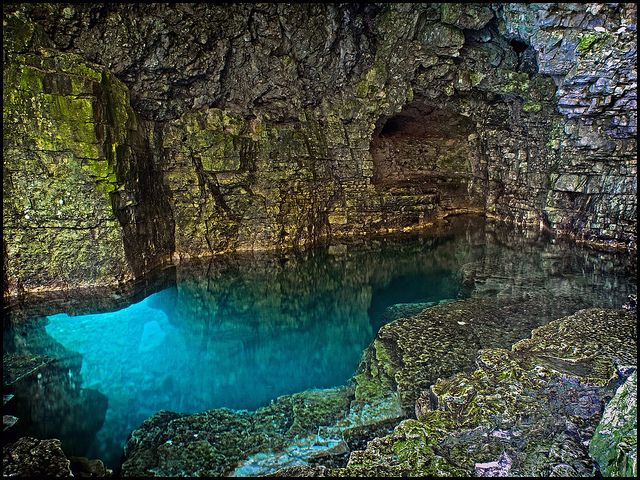 Cyprus Lake Grotto | by Rodrick Dale