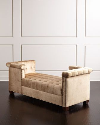 Majestic+Tufted+Wedge+Chaise+by+Haute+House+at+Neiman+Marcus.
