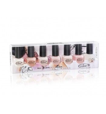 Color Club. All About French. Nail polish collection. @LeapingBunny certified cruelty free!