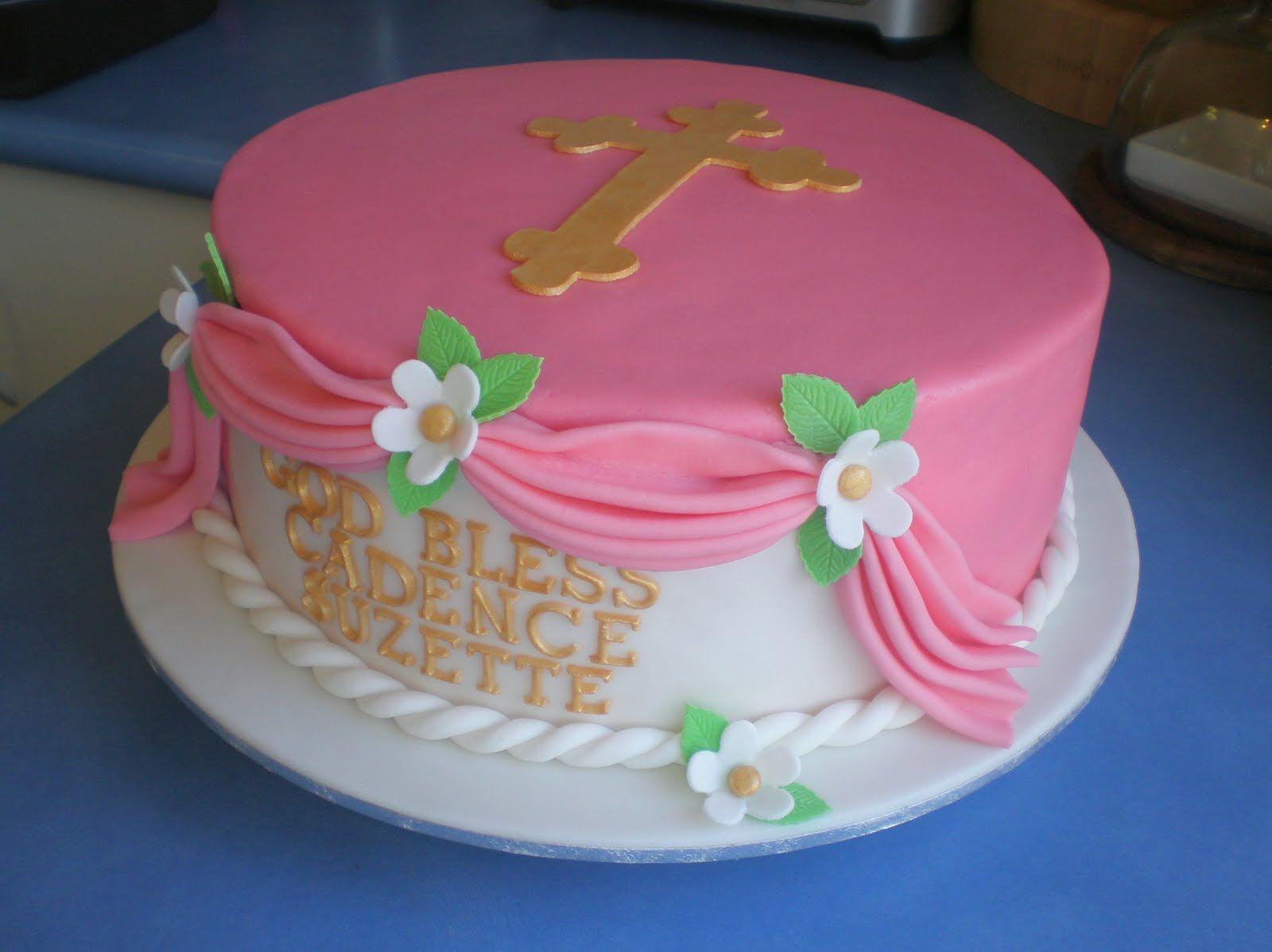 Best Baptism Cakes