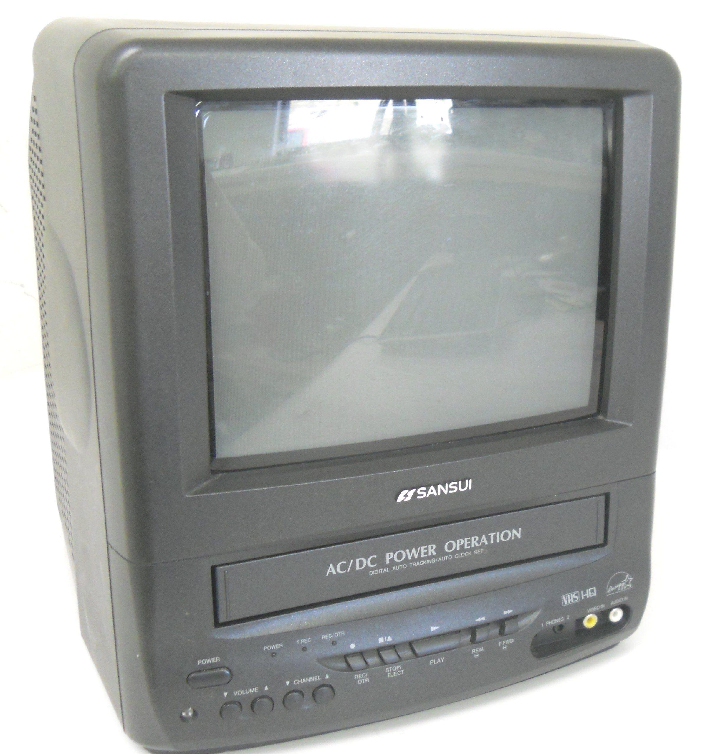 Sansui com0961b 9 color tv vcr combo portable handheld tvs sansui com0961b 9 color tv vcr combo publicscrutiny Images