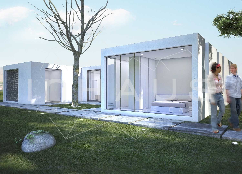 Casa prefabricada hormigon teruel casa dise o cubo - Casas prefabricadas de hormigon modernas precios ...