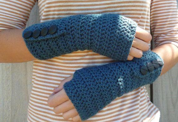 Knitting Pattern For Hobo Gloves : SALE Fingerless Gloves Wrist Warmers hobo gloves by captainapricot, USD18.00 ...