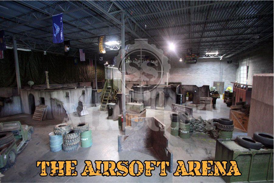 Indoor Airsoft Arena Google Search Airsoft Arena