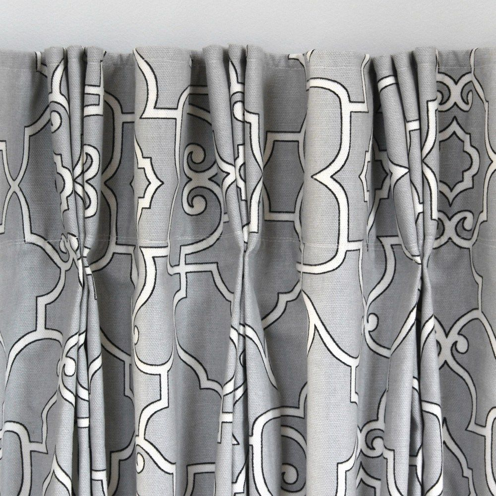 How To Make Pleated Curtains With Pleat Tape Hooks Onlinefabricstore Net Blog Pinch Pleat Curtains Pleated Curtains Curtains