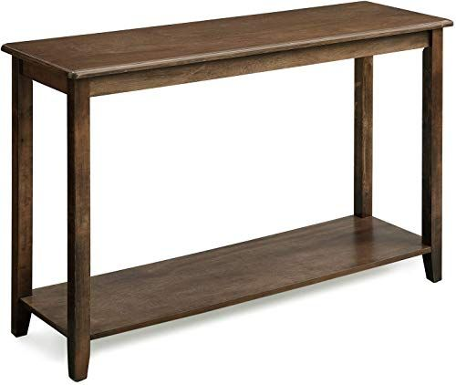 Enjoy Exclusive For Vasagle Large Console Table Real Wood Legs Simple Rustic Entry Table Storage Shelf Sofa Table Entryway Hallway Living Room Wood Grain B Rustic Entry Table Large Console Table