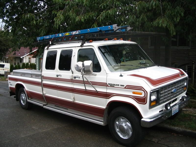Cummins Powered Econoline Conversion Ford Van Cool Vans Ford