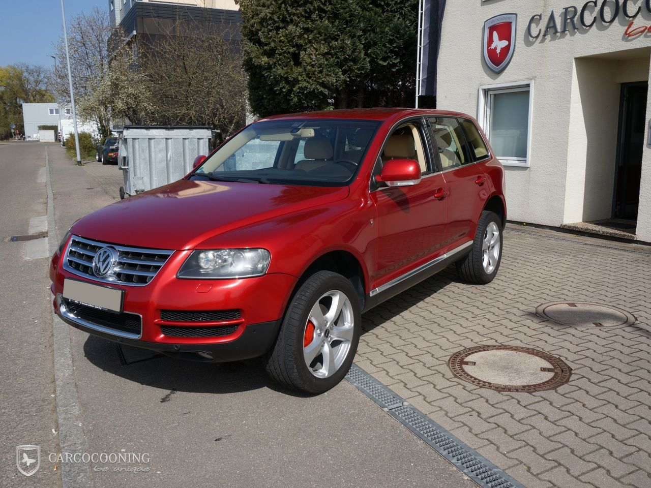 Folierung Eines Vw Touareg  Volkswagen
