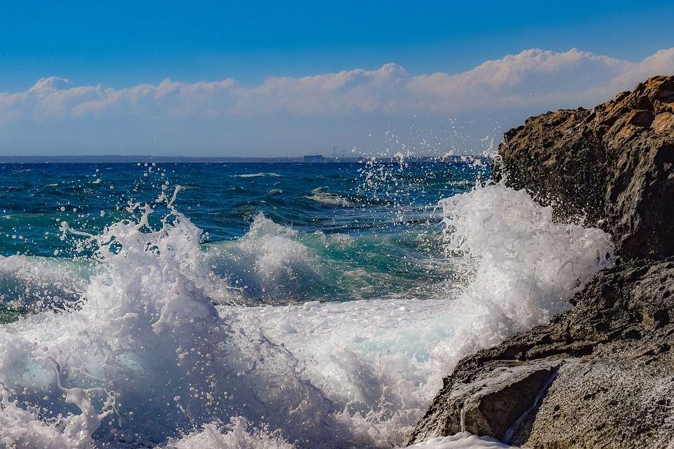 Rocky Coast Rough Sea Landscape Waves Images Photos Free Stock Images Landscape Ocean Landscape