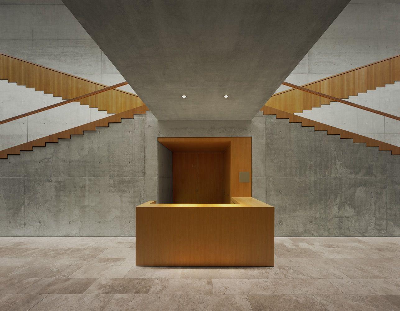 Architekten Schweinfurt staircase with beautiful minimal detailling interior of the