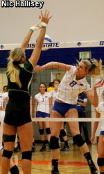 Volleyball Recap No 9 Csu Efficient In Sweep Of Boise State Colorado State University Athletics Boise State Colorado State University Athlete