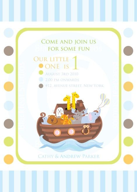 Noahs ark invitation diy printable for baby shower birth items similar to noahs ark print at home invitations noahs ark theme invitation party invites thank you card rsvp card personal and commercial use bookmarktalkfo Image collections