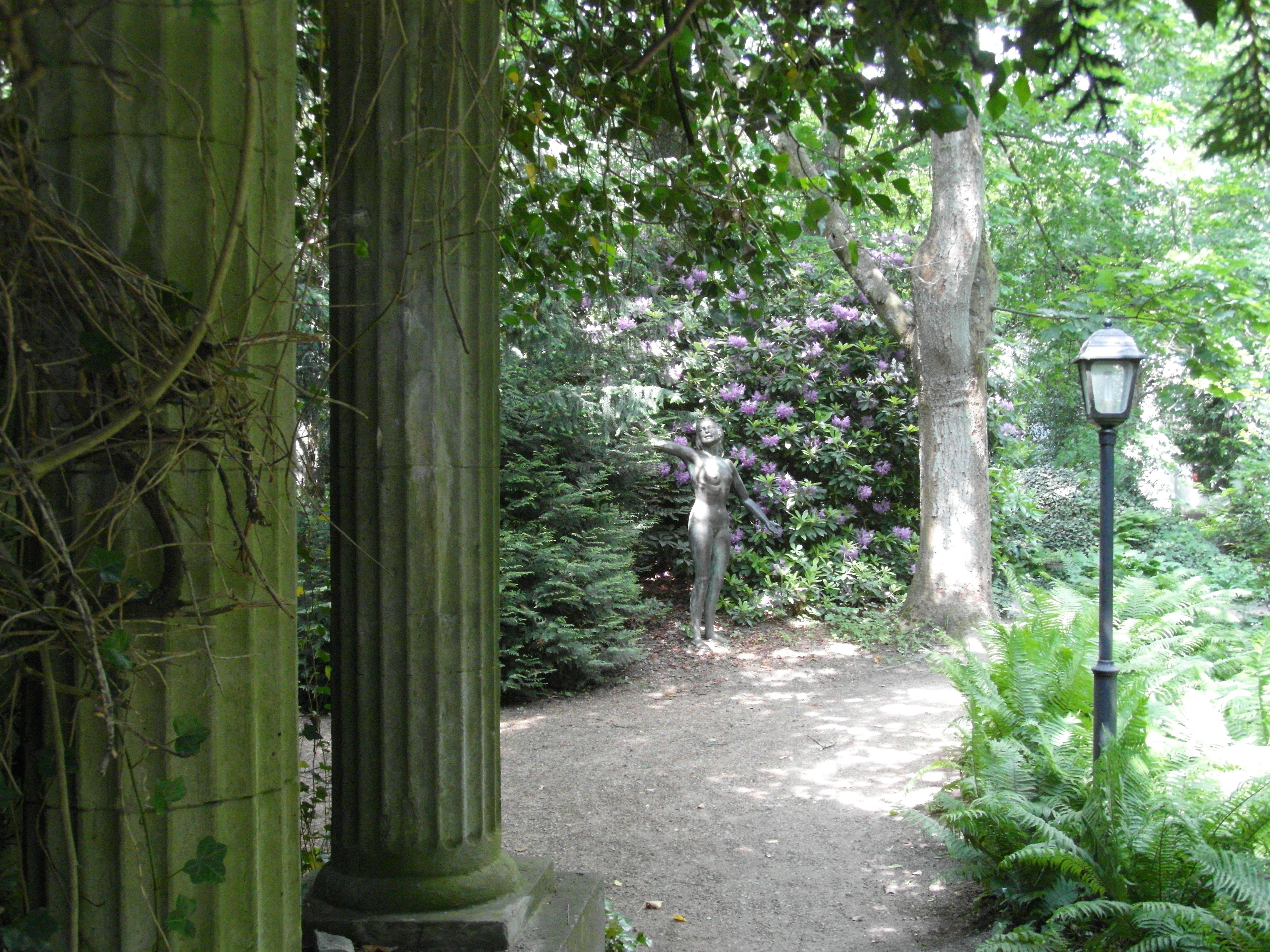Thieles  Garten ... Säulen ... Modell ... / Copyright Horst H. Barsuhn; Bremerhaven (Germany)
