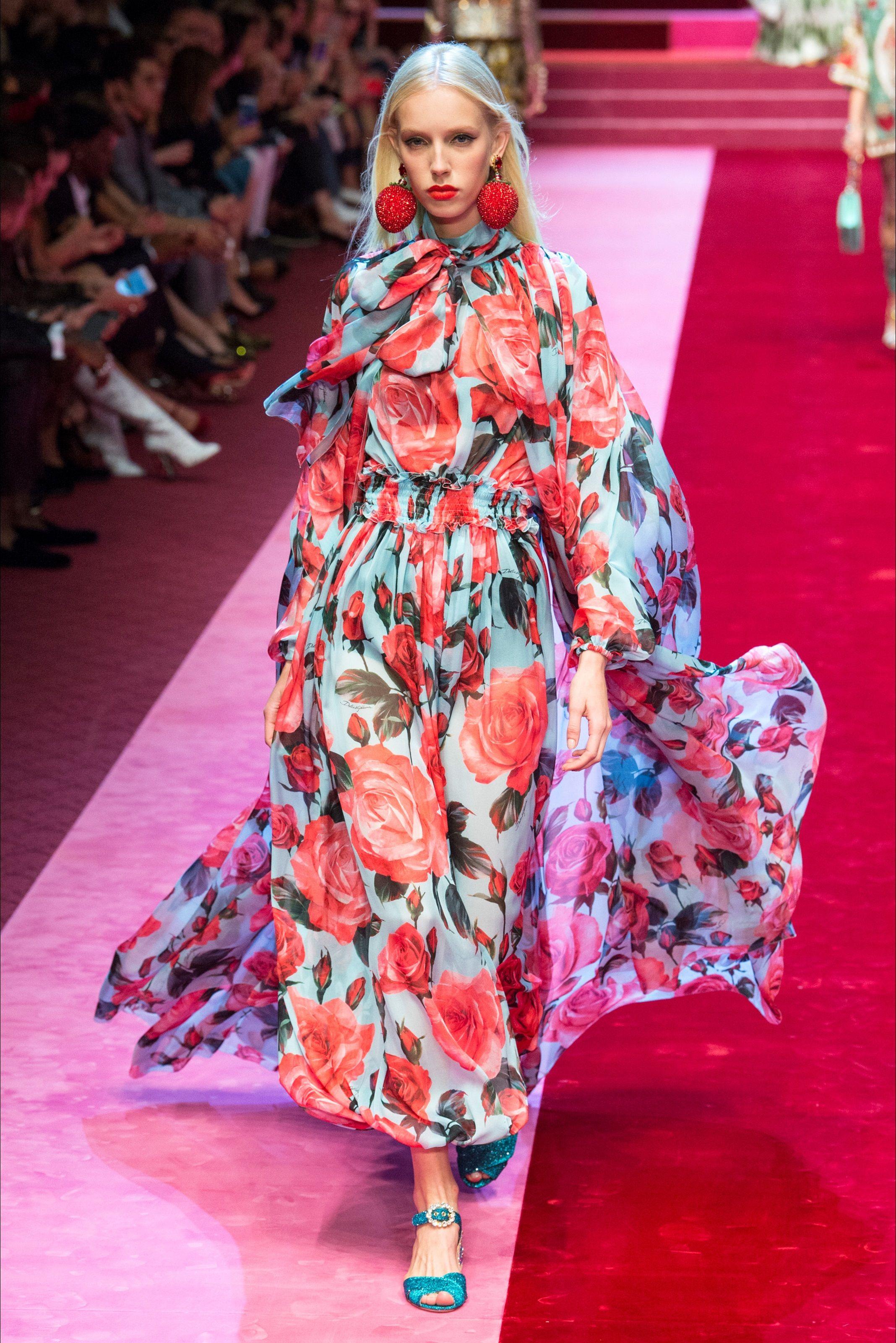 Sfilata dolce gabbana milano collezioni primavera for Master di moda milano