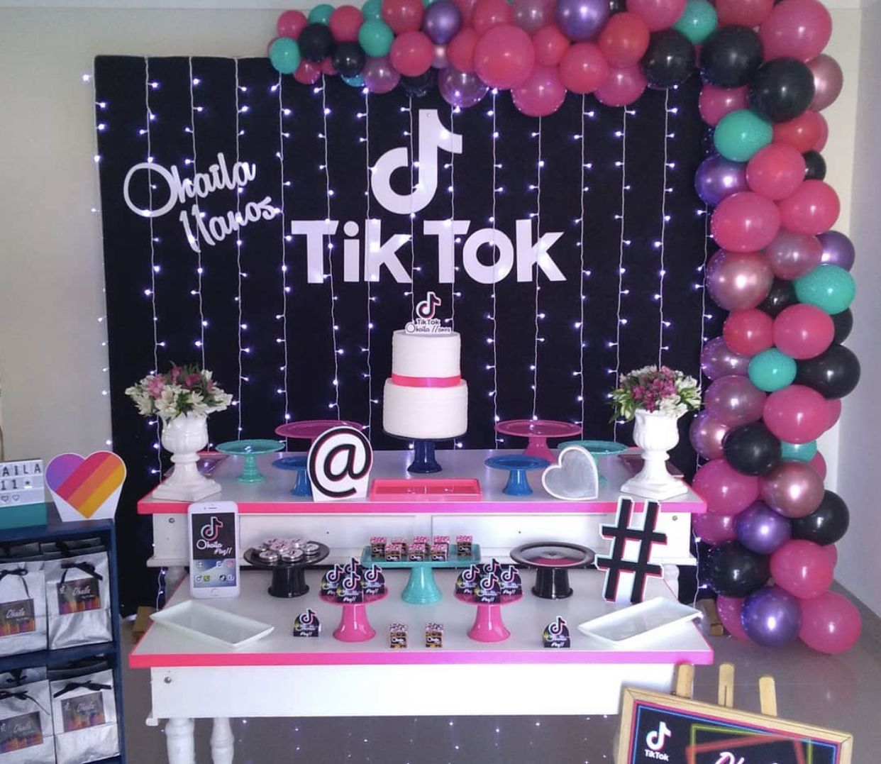 Pin By Joan Hagedorn On Tiktok Birthday Party Birthday Surprise Party Birthday Party Images Birthday Parties