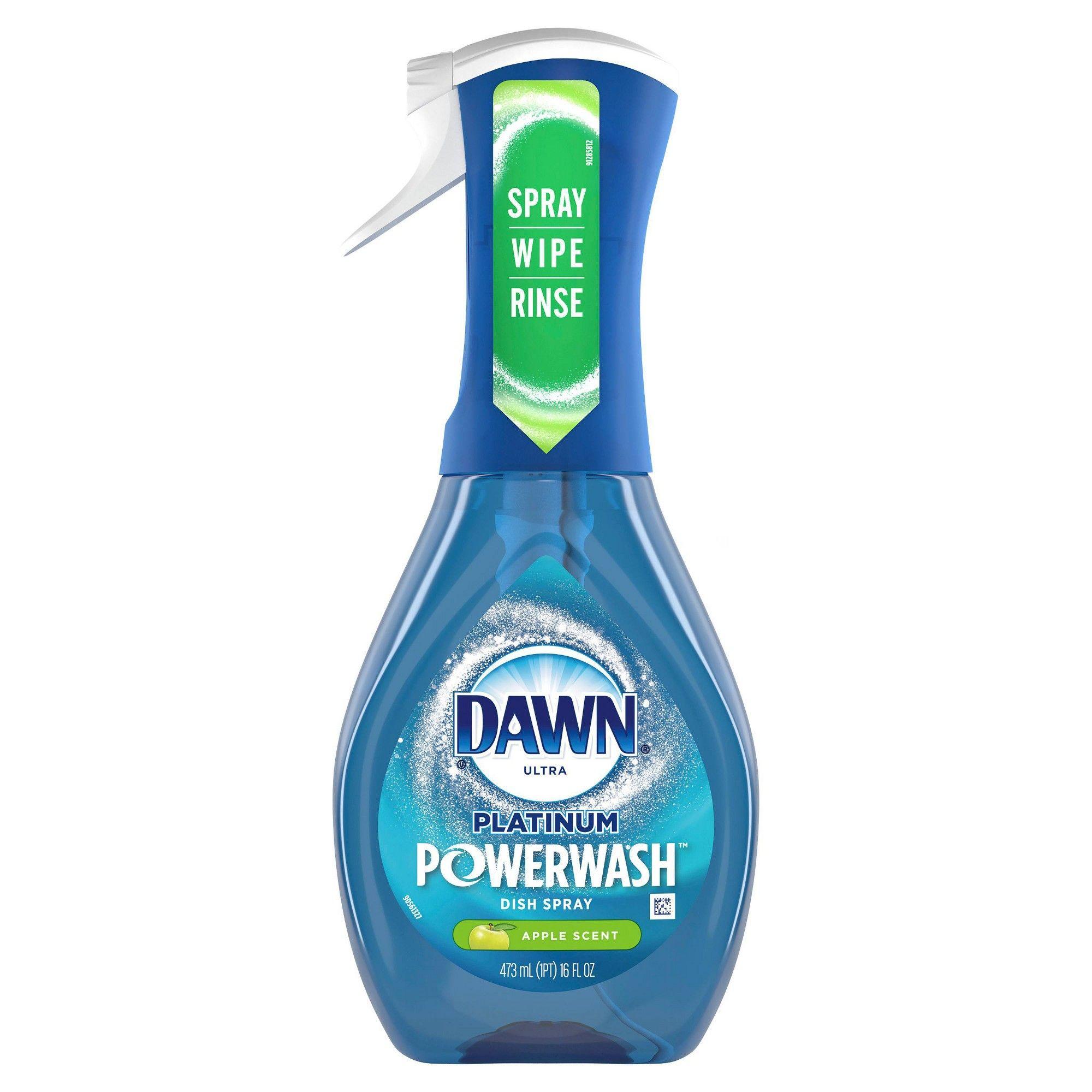 Dawn Platinum Powerwash Dish Spray Dish Soap Apple Scent 16