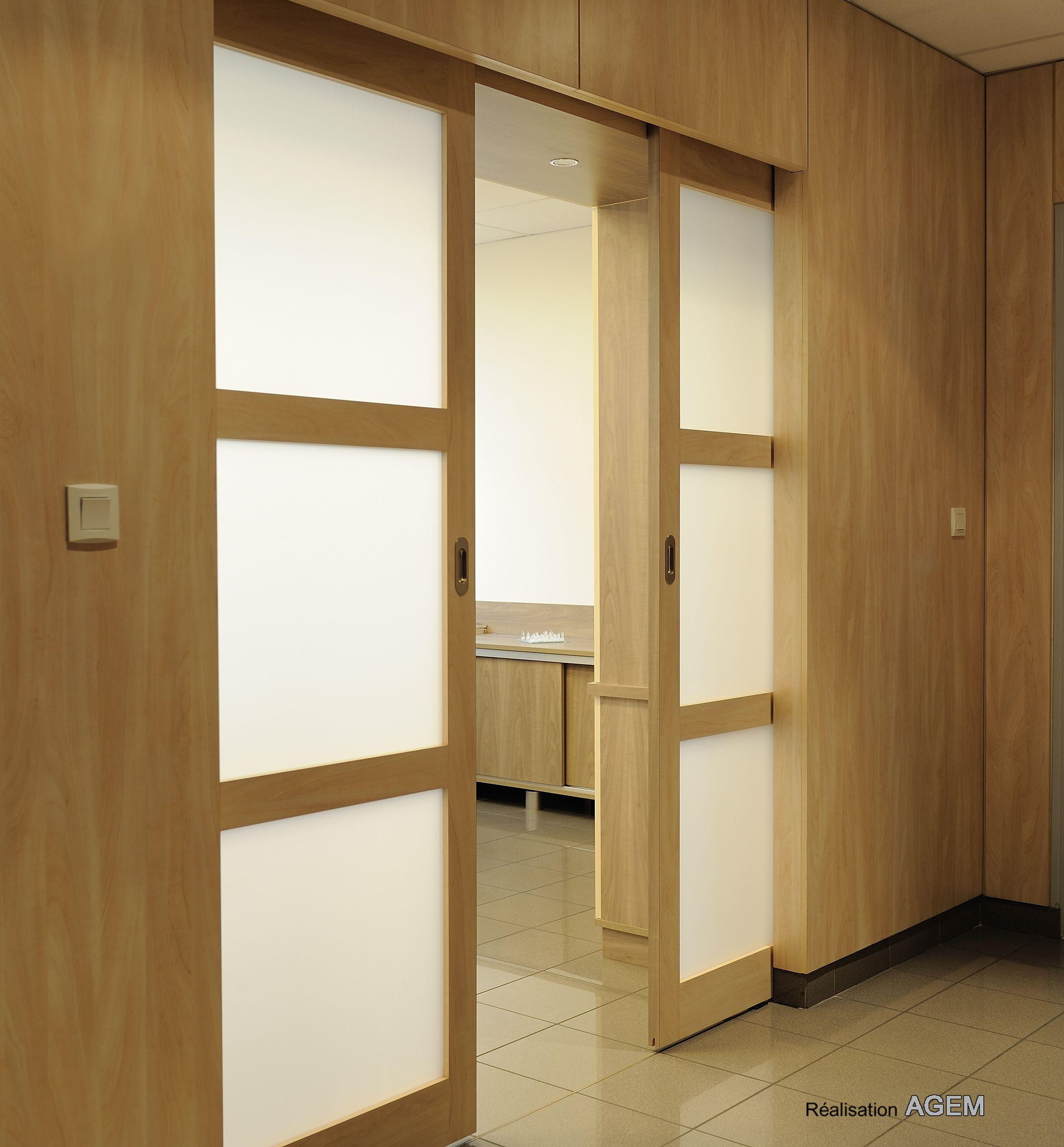 Sliding doors wood glass room divider pinterest