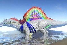 Rainbow spino ark pinterest spinosaurus rainbow spino spinosaurusarkrainbowsrainbow malvernweather Images