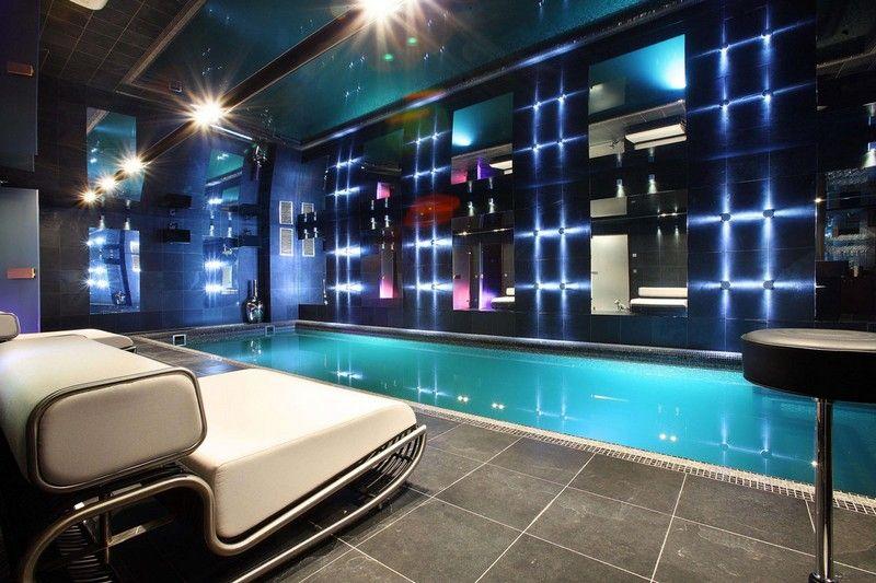 Indoor Pool bauen - 50 traumhafte Schwimmbäder | Alpenchalets ...