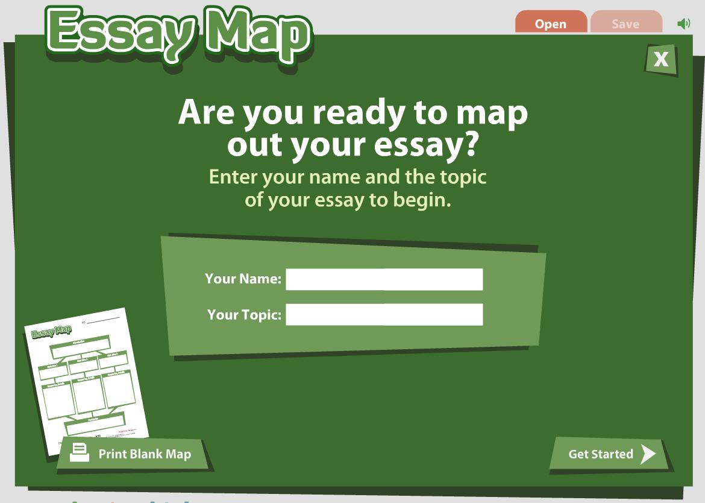 Www readwritethink org essay map