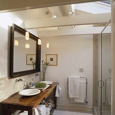 Bathroom Lighting Vaulted Ceiling bathrooms made for relaxing | natural light, southern living and
