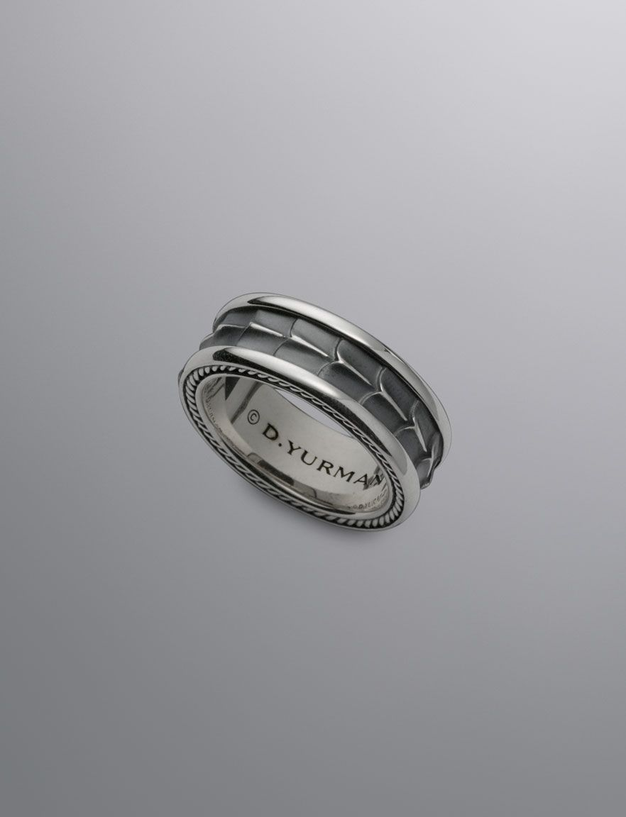 might have to get a matching set armory band ring find this pin and more on david yurman mens - David Yurman Mens Wedding Rings