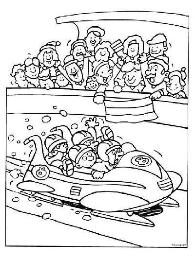 hoe werkt olympische spelen knutselen deel 2 winter
