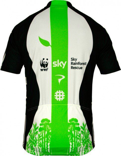 SKY 2012 PRO Cycling #WWF jersey  #cyclejersey  @TheRideJournal  via @tomjohn001