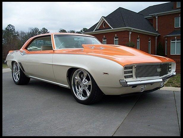 1969 Chevrolet Camaro Rs Resto Mod 540 Ci 5 Speed Car Chevrolet