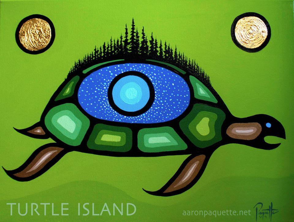 Native American Turtle Island Turtle Island | *Nativ...