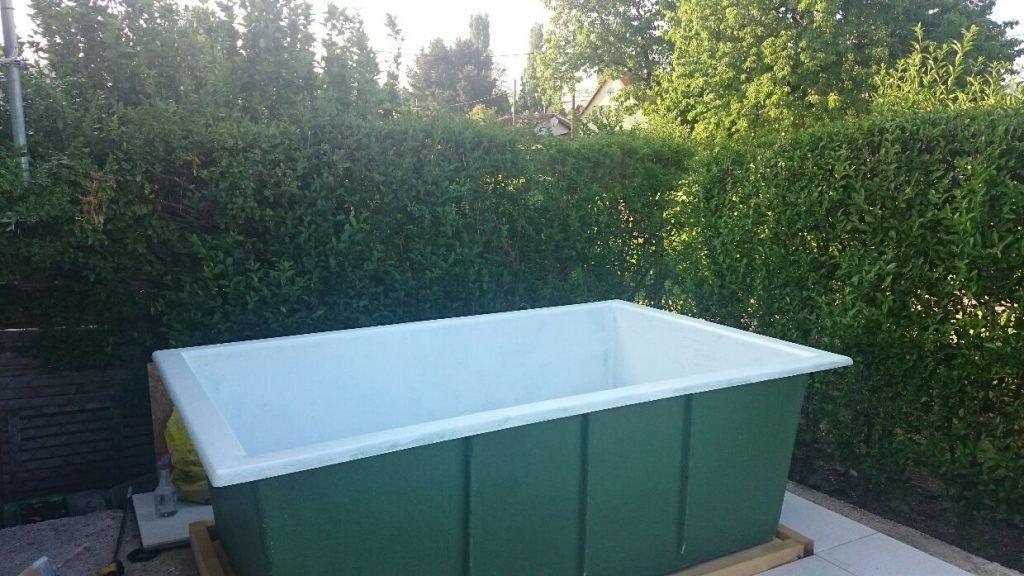 Diy Pool Fur Den Garten Erfrischung In Nur Wenigen Tagen In 2020 Pool Im Garten Pool Fur Kleinen Garten Gartenpools